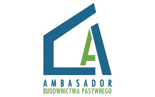 Logo Ambasador budownictwa pasywnego